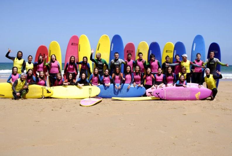 SURF CAMP CÓBRECES 2018